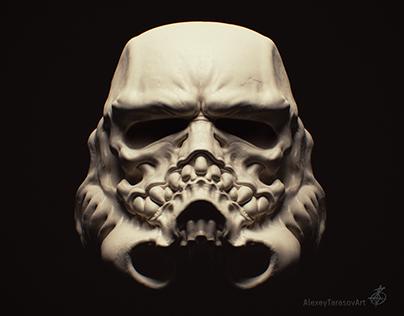 Storm Trooper Skull