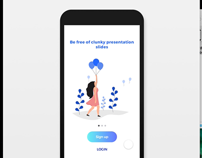 Onboarding animations