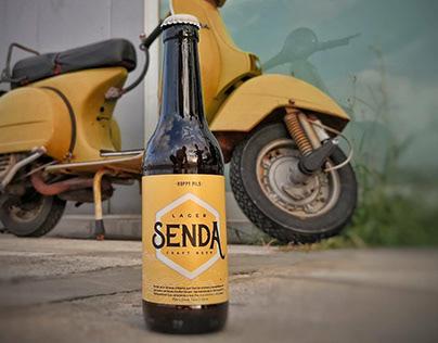 Creación de marca - Senda Craft Beer