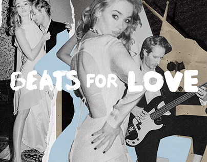 """""""Beats for love"""" collage"""
