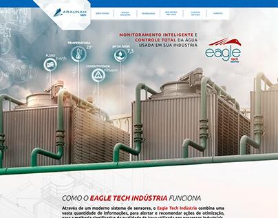 Araunah Tech - Web page Eagle Indústria
