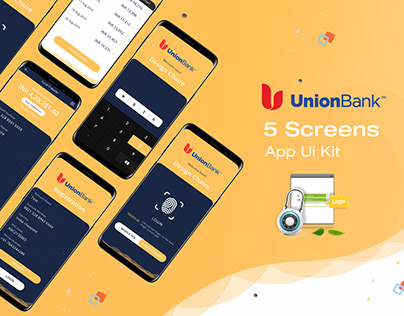 Union Bank Ui Design Concept PSD