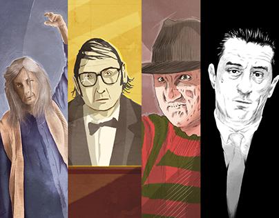 Illustrations for Movie Mezzanine (Sep, Nov 2015)