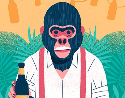 King Beer Gorila
