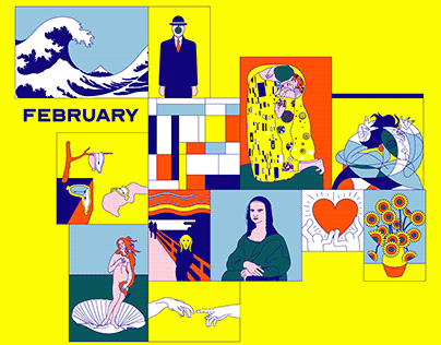 February — Illustration