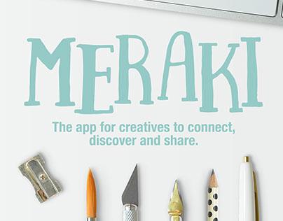 Meraki App Concept