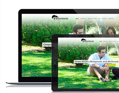 Residencia Monteprincipe. Branding and UX Design