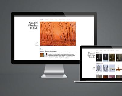 Gabriel Sánchez Toledo website