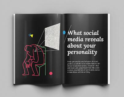 Psycology Magazine :: Editorial Illustration