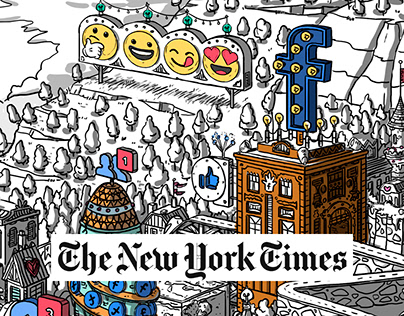 Illustration for the NY Times front section.