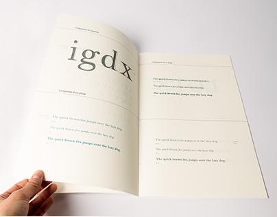 Manuels de typographie