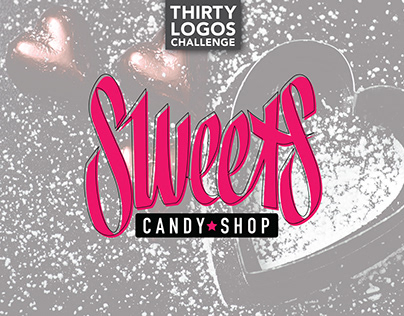 THIRTY LOGOS - DAY 11 - SWEETS