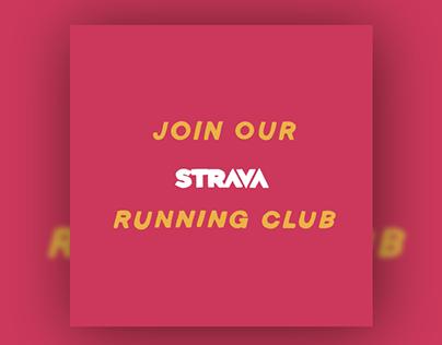 Run For Heroes • Strava • Motion Graphics