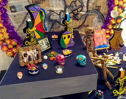 Picasso's Altar - Day of the Dead