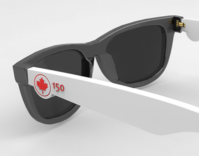 Óculos de sol - 150 anos Canadá