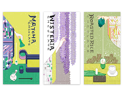Japan Tea Chocolate Packaging Design