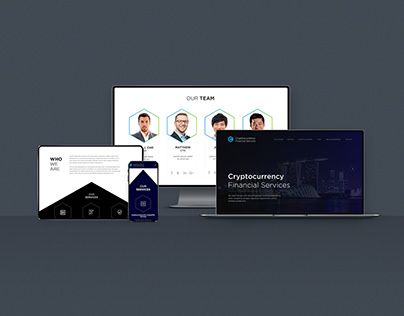 Cryptocurrency Financial Service Web Development