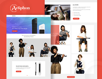 Artiphon Landing Page