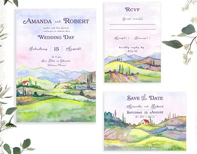 Toscana Stationary