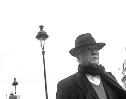 Parisians: Street portraits of passers-by in Paris.
