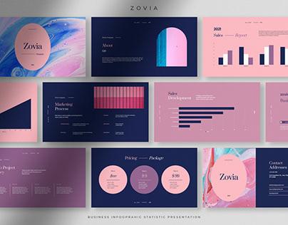 Zovia - Infographic Statistics Presentation