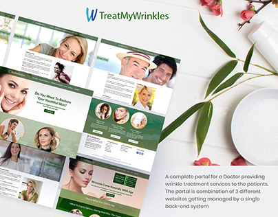 TreatMyWrinkles: A complete portal for doctors.