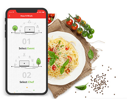 Potluck Chef/Online Chef Booking Portal