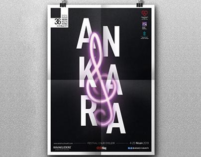 36. International Ankara Music Festival - Poster Design