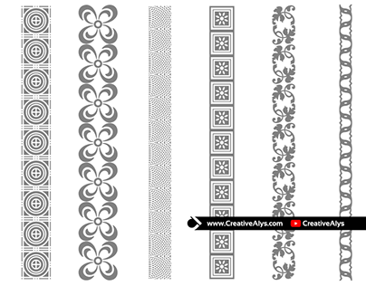 Free Creative Borders and Seamless Design Patterns