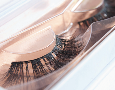 Inana Eyelashes Packaging and Product Photography