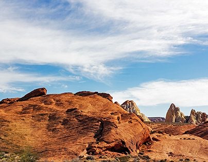 Valley of Fire white domes