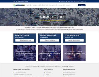 AQUAQUICK 2000   WEB DEVELOPMENT