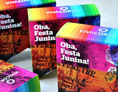 Vivacor Gráfica | Linha Embalagens Comemorativas