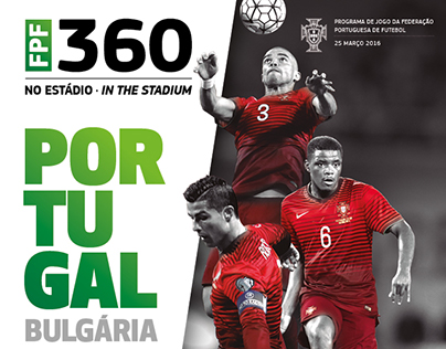 FPF . Portugal-Bulgaria . Official Match Programme