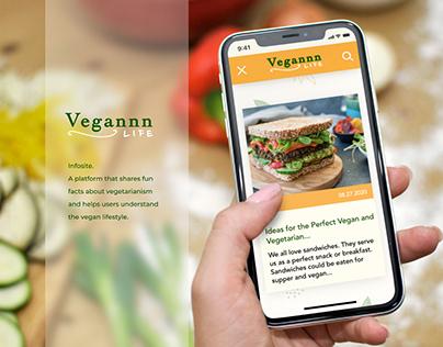 Vegannn - Infosite about veganism lifestyle