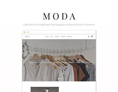 Shopify & Orbelo - MODA Boutique