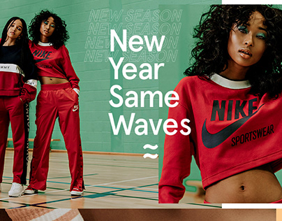 New Year Nike campaign