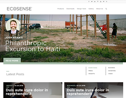 Ecosense Blog Site