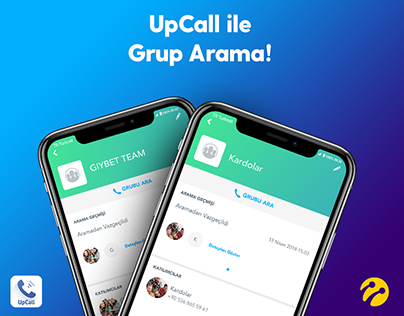 Turkcell UpCall Grup Arama / Gıybet Team /Kardolar