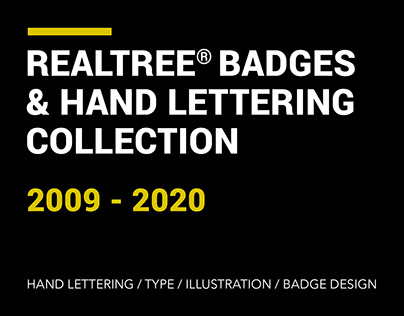 Realtree® Badges & Hand Lettering Collection 2009-2020