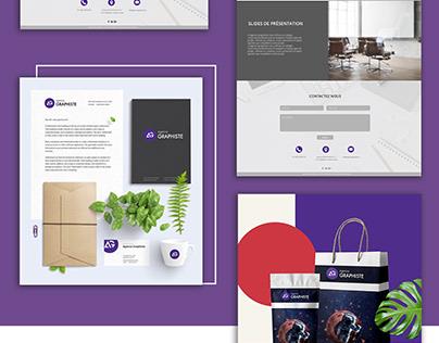 Agence Graphiste site web