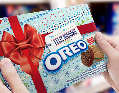 Oreo Christmas Packaging