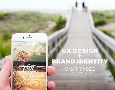 Visit Tybee   UX Design + Brand Identity