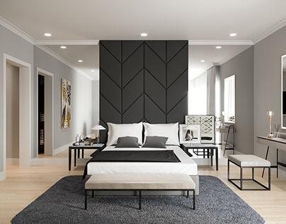 V01 Typical Bedroom