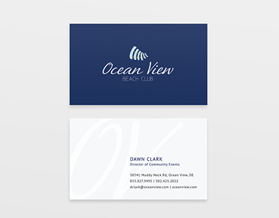 Ocean View Beach Club Branding