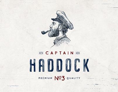 CAPTAIN HADDOCK - BRANDING & PACKAGING