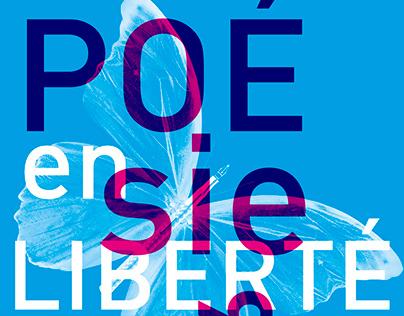 Poésie en liberté posters 2013-2021