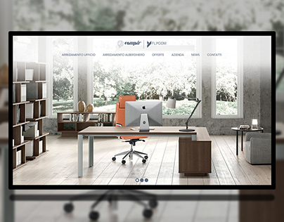 Furniture, Office, website ui ux design