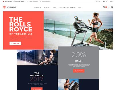Fitness site design