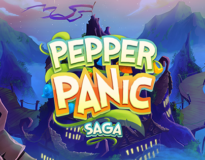 Pepper Panic Saga - Background Art - King